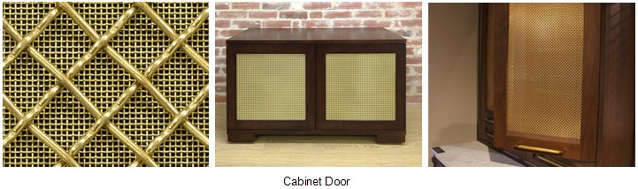 How To Insert Copper Wire Mesh In A Cabinet Doorweb Wire Mesh Coltd