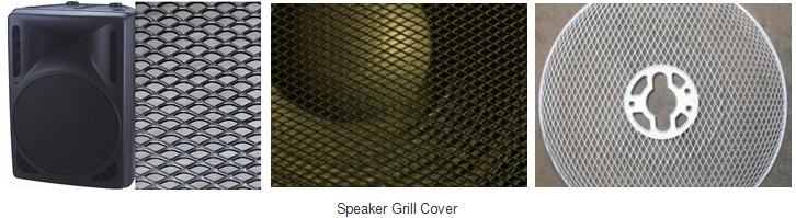 The Speaker Grill Covers Can Be Made In Diamond Round Square And Hexagonal Patterns For Most Any S